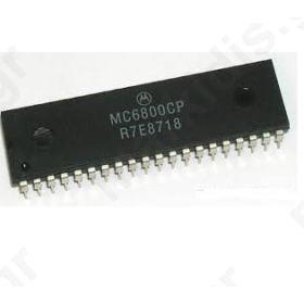 I.C MC6800 8-BIT MICROPROCESSING UNIT (MPU)