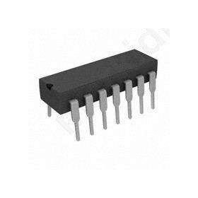 I.C 74HC00N GATE NAND 4CH 2-INP 14-DIP