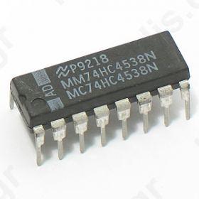 I.C 74HC4538 digital; monostable, multivibrator, retriggerable; Channels:2