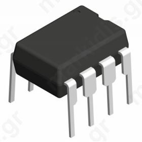I.C LM393N,Operational amplifier; 1MHz; 3-32VDC; Channels:2; DIP8