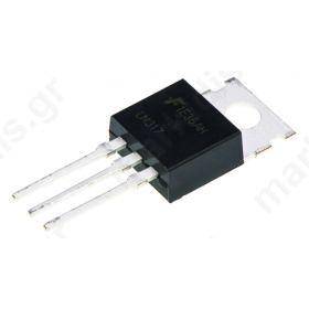 Γραμμικός Σταθεροποιητής Τάσης LM317T 1.2-37V  1.5 Amp