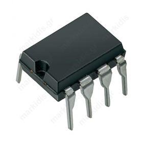 I.C LM741- 8P Operational amplifie 1MHz 3-18VDC
