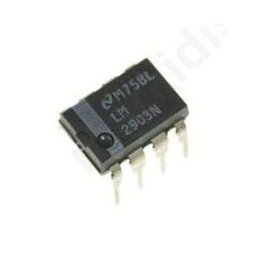 I.C LM2903N, Operational amplifier; 2-36VDC; Channels:2; DIP8