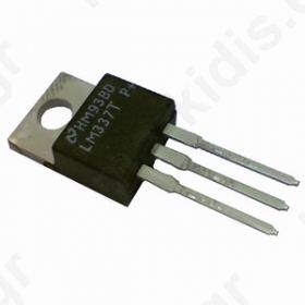 I.C LM337T,Voltage stabiliser; adjustable; 1.2-37V; 1.5A; TO220