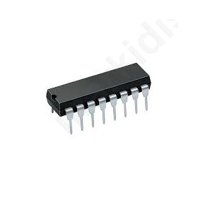 CD4049UBE, Hex, CMOS Inverter, -0.5-20 V, 16-Pin PDIP
