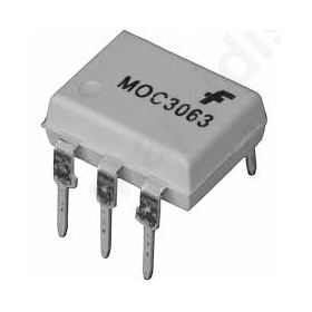 MOC3063,OPTOISOLATOR 5KV TRIAC 6DIP