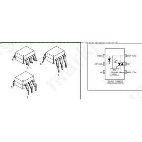 OPTOCOUPLER MOC3061/MOC3040