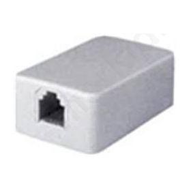 Τηλεφωνική πρίζα 6P4C αυτοκόλλητη μικρή