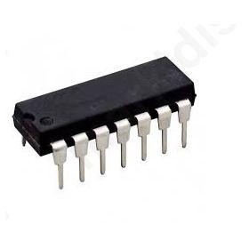 I.C LM747CN/UA747, Dual Operational Amplifier.