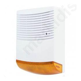 SAS-DUMMY FL 20, Ομοίωμα σειρήνας Security με LED που αναβοσβήνει.