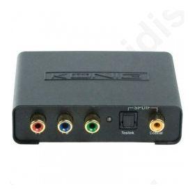 ΜΕΤΑΤΡΟΠΕΑΣ ΑΝΑΛΟΓΙΚΟΥ ΣΗΜΑΤΟΣ ΣΕ HDMI KN-HDMI CON 10