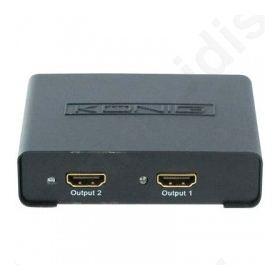 KN-HDMI SPL 10,Splitter HDMI 2 θυρών.