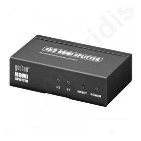 Splitter HDMI 2 θυρών, με υποστήριξη 3D.