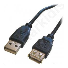 Καλώδιο USB A αρσ. - USB A 2.0 θηλ 1.8m