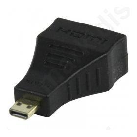 Αντάπτορας HDMI micro αρσ. - HDMI θηλ.