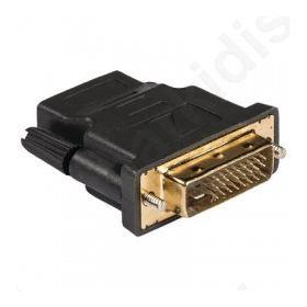 KNV 34912E, Αντάπτορας DVI-D αρσ. - HDMI θηλ. με επίχρυσες επαφές.