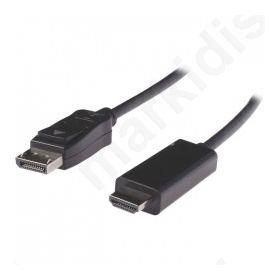 Καλώδιο εικόνας DisplayPort αρσ. σε HDMI αρσ., 2.00m