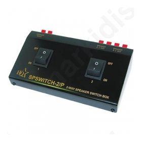 Συσκευή για σύνδεση 2 σετ ηχείων 4-16 Ω, σε 1 ενισχυτή.