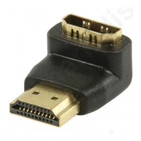 Αντάπτορας HDMI αρσ. - HDMI θηλ. σε γωνία 90°