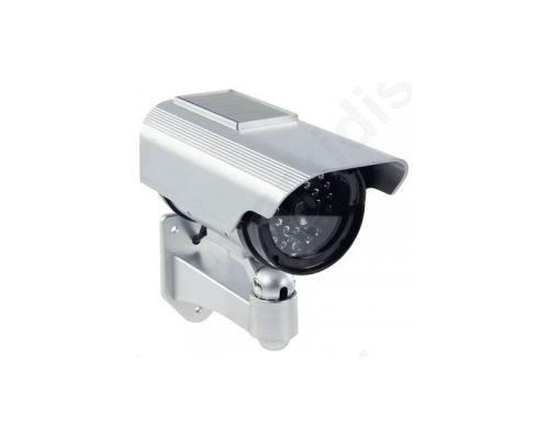 SAS-DUMMY CAM35 ,Ομοίωμα κάμερας Security με ηλιακό πάνελ και IR LEDs που ανάβουν στο σκοτάδι