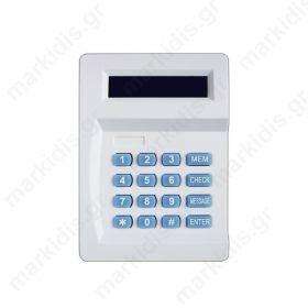 ANGA AG-D20 Τηλεφωνητής με οθόνη LCD, Μνήμη 10 Τηλεφώνων, Χρόνος εγγραφής μηνύματος 20 δευτ