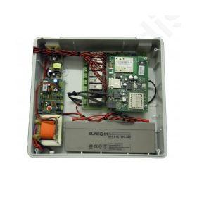 Τηλεχειρισμός 8 καναλιών μέσω GSM σε κουτί.