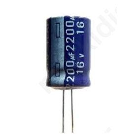 Πυκνωτής Ηλεκτρολυτικός 2200MF/16V 105C