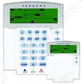 K37 LCD ασύρματο πληκτρολόγιο 32 ζωνών Icon (Paradox)