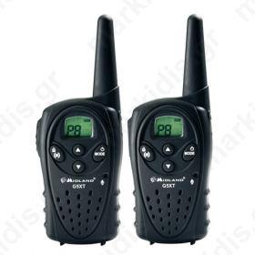 Midland G5 XT Ζεύγος ασύρματου πομποδέκτη PMR446 (walkie-talkie).