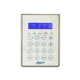 APOLLO PLUS, Πληκτρολόγιο Συναγερμού Αφής LCD οθόνη μπλέ