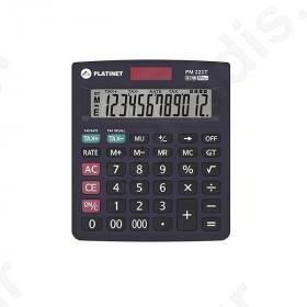 Αριθμομηχανή Platinet PM223T ΤΑΧ