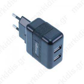 MediaRange φορτιστής με 3.1A διπλή έξοδο USB
