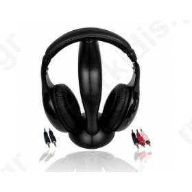 Ακουστικά ,ασύρματα MH976 MSONIC w/FM