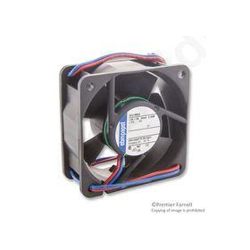 612NGLE  Axial Fan, Compact, Sleeve 12V
