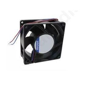 DC Axial Fan, 92 x 92 x 38mm, 146m³/h, 9W, 24 V dc (3200J Series)