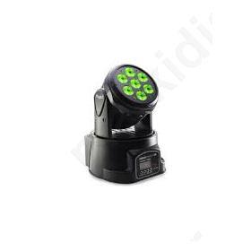 Headbanger-10, LED Κινητή κεφαλή με 7 x 10W RGBW