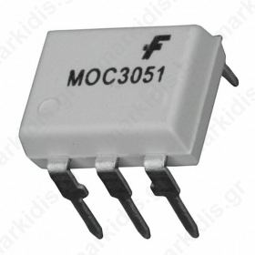 MOC3051 6-Pin DIP Random-Phase Optoisolators Triac Drivers