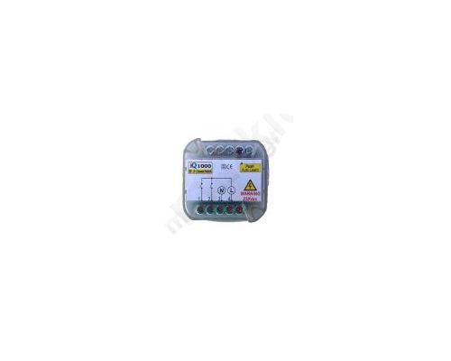 IQ1000 ON/OFF Δικάναλος δέκτης τηλεχειρισμού για έλεγχο συσκευών με τάση τροφοδοσίας 230VAC