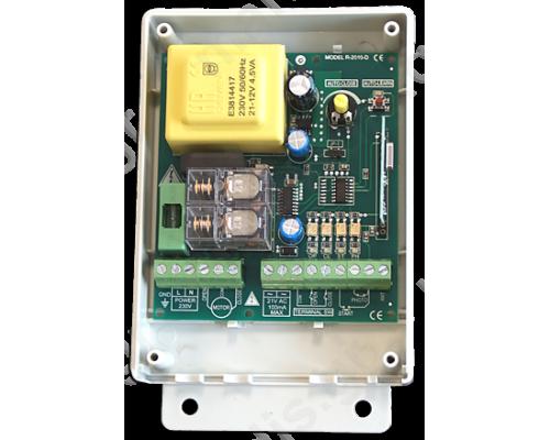 R2010D Πίνακας ελέγχου κινητήρων 230 VAC για ρολά η συρόμενες πόρτες