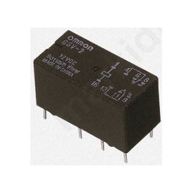 RELAY DPDT PCB Mount Non-Latching  5V dc