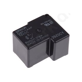 SPST-NO PCB Mount Non-Latching Relay Through Hole, 12V dc