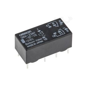 G6A-234P-ST-US 12DC, Non-Latching Relay Through Hole, 12V dc
