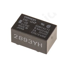 G6E-134P-US 5DC, Non-Latching Relay Through Hole, 5V dc