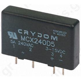 ΡΕΛΕ MCXE240D5 5 A SPST Solid State Relay