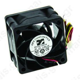 BLOWER 12VDC 40 x 40 x 28mm 28.3m/h 3.72W