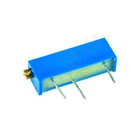 20-Turn Through Hole Cermet Trimmer Resistor with Pin Terminations, 10k Ω ±10% 1/2W ±100ppm/°C