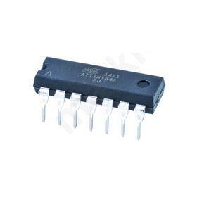 ATTINY84A-PU, 8bit AVR Microcontroller, 20MHz, 8 kB Flash, 14-Pin PDIP