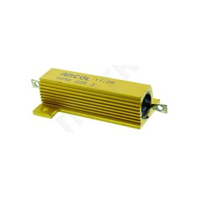 HS50 Series Aluminium Housed Axial Panel Mount Resistor, 22Ω ±5% 50W