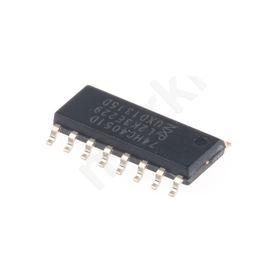 74HC4051D,652, Multiplexer/Demultiplexer Single 8:1, 5 V, 16-Pin SOIC