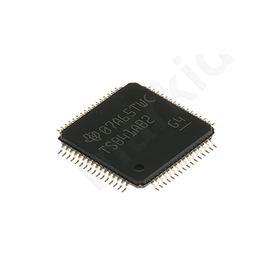 TSB41AB2, Cable Transceiver, 4-TRX 400Mbit/s Differential, 64-Pin HTQFP